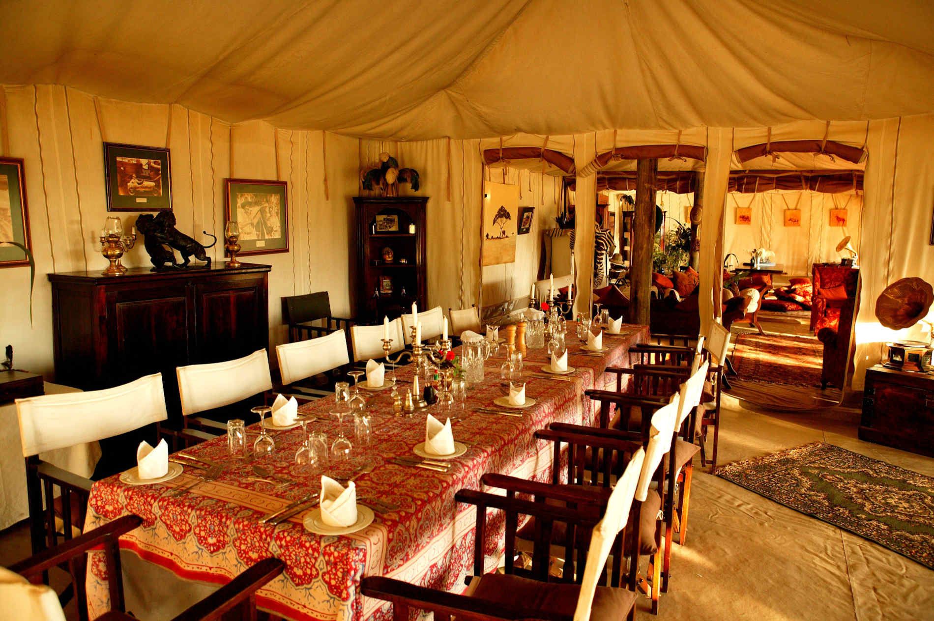 Cottars 1920 Camp Kenia Dining Room Esszimmer