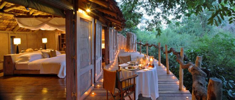 Tansania Safari Manyara Baumhaus