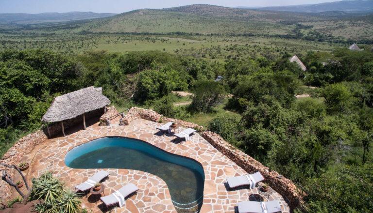 Klein's Camp in der Serengeti
