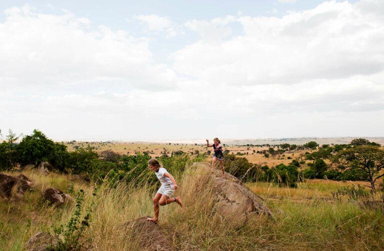 Urlaub mit Kindern im Lamai Serengeti Camp