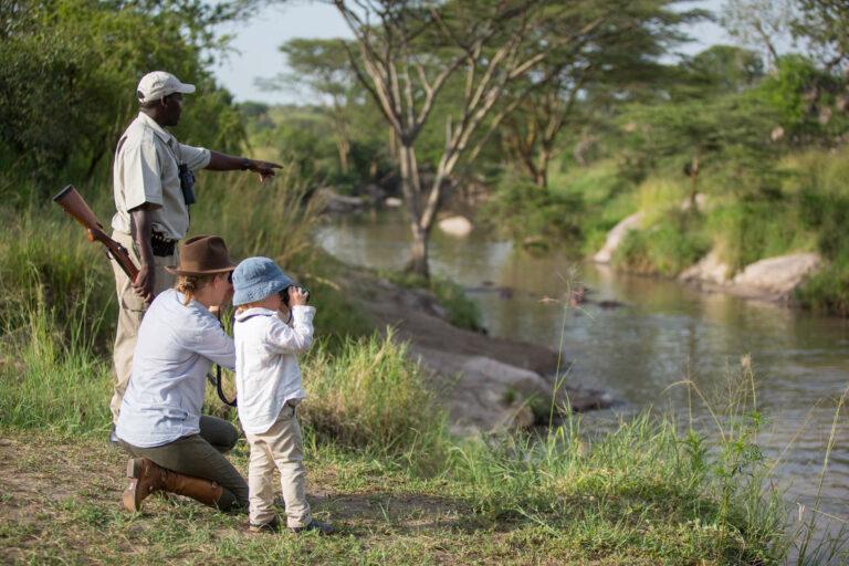 Tansania Safari Familie
