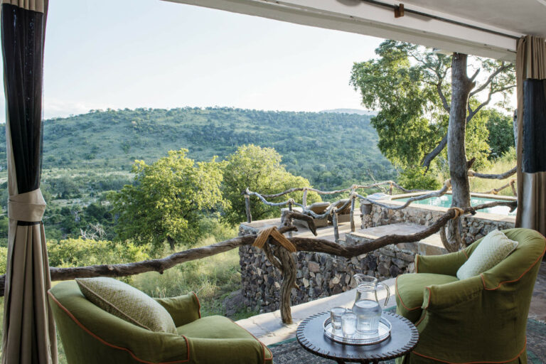 Camps & Lodges in der Selous Game Reserve: Beho Beho