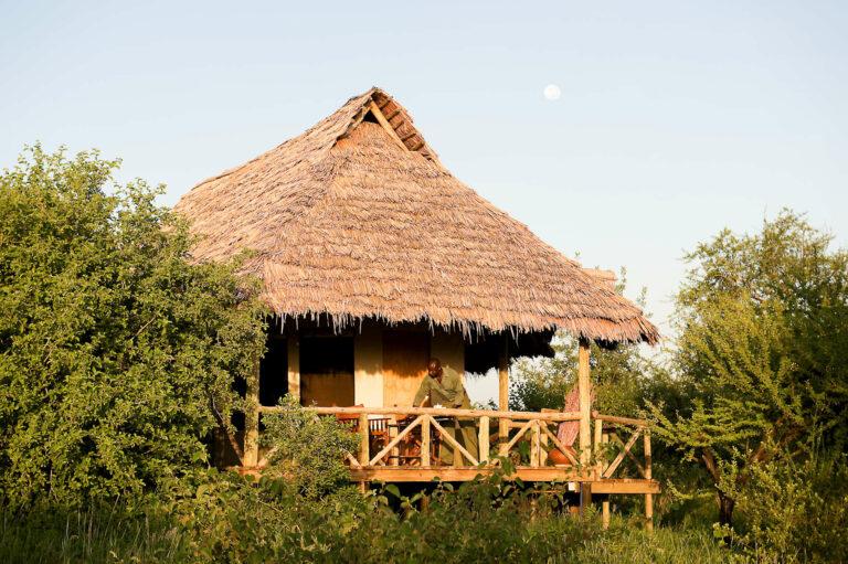 Camps & Lodges im Tarangire Nationalpark: Lake Burunge Camp
