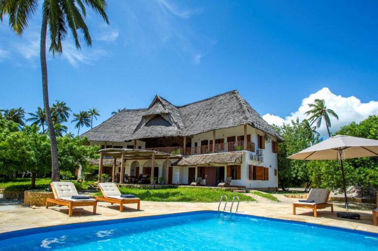 Camps & Lodges an der Küste Indischer Ozean: Mawimbi Villa