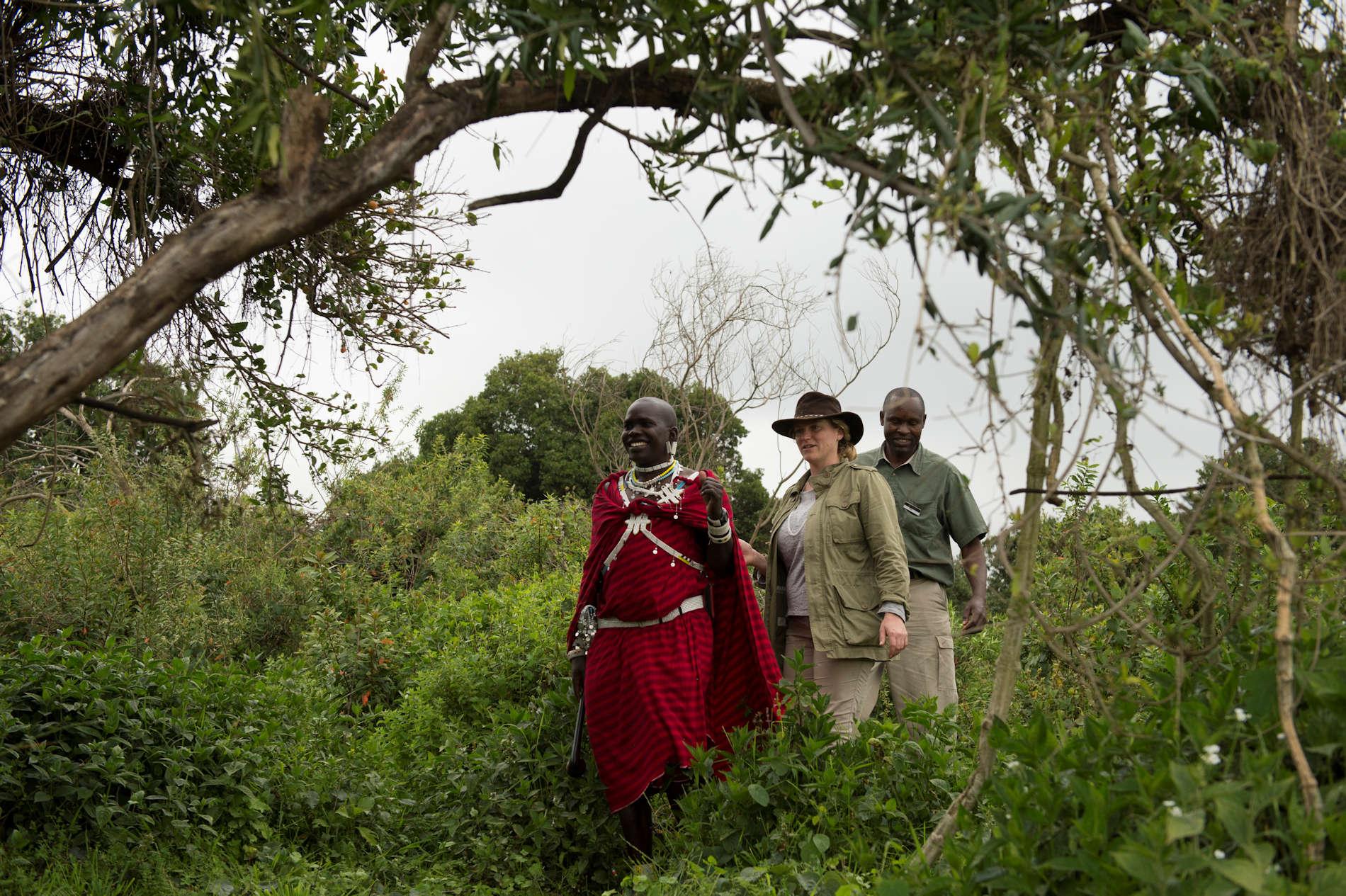 Wanderung durch Ngorongoro Nationalpark - Asilia Africa