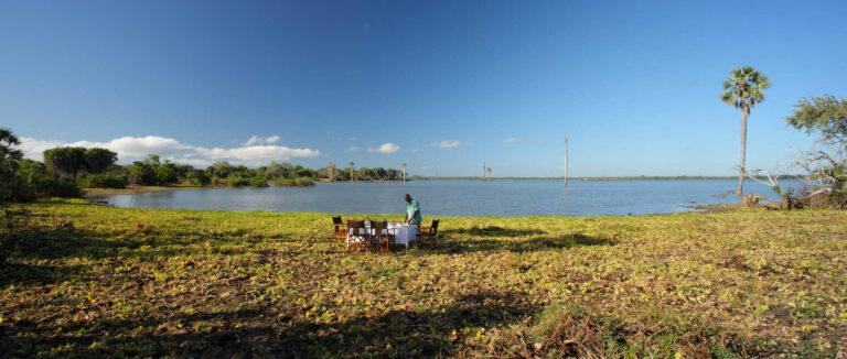 Camps & Lodges in der Selous Game Reserve: Siwandu Camp