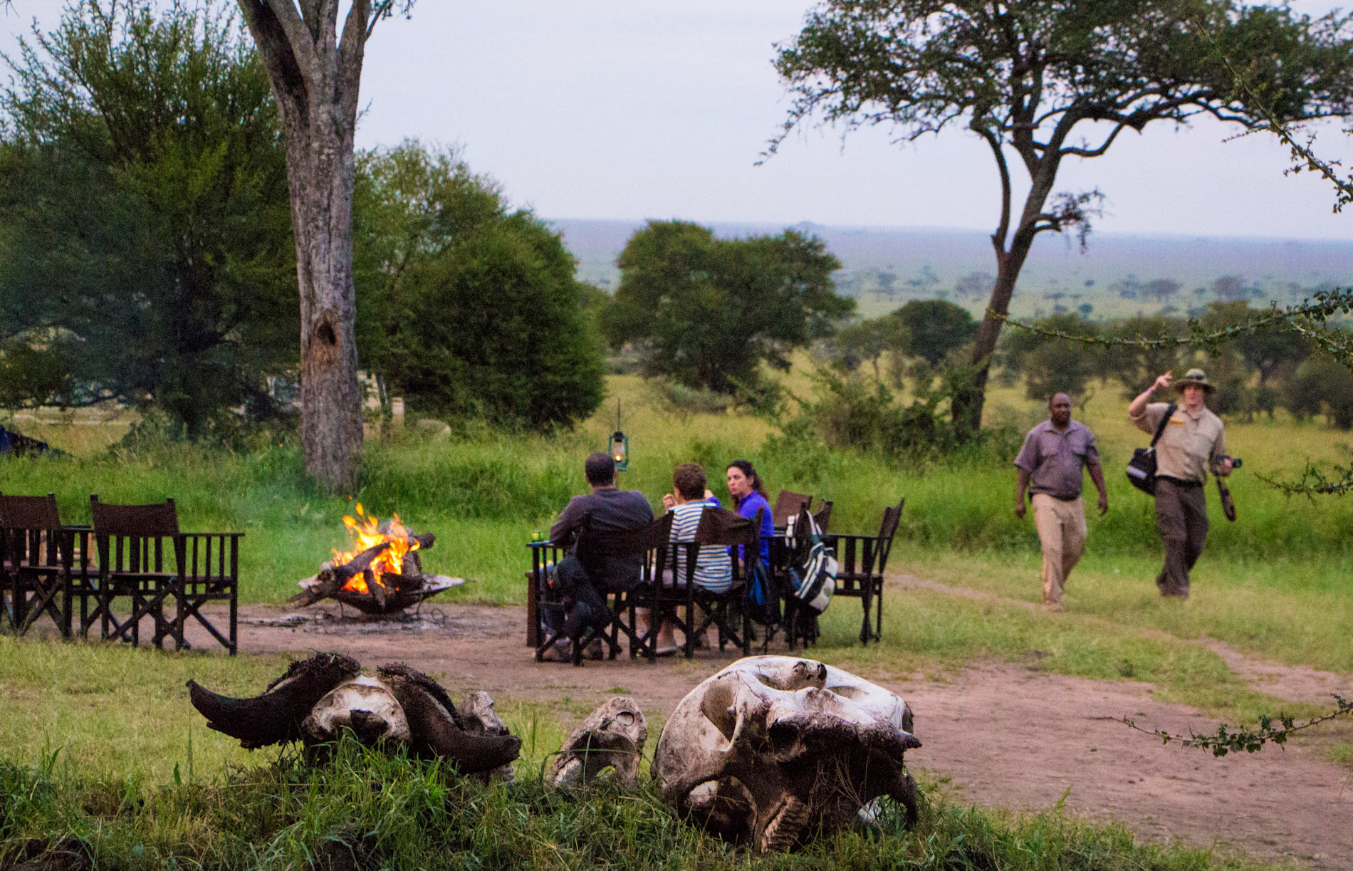 Dunia-Camp Serengeti Tansania