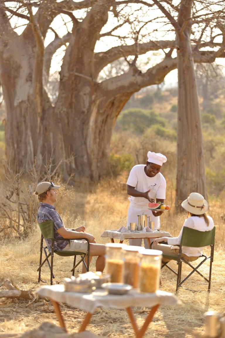 Camps & Lodges im Ruaha Nationalpark: Ikuka Safari Camp
