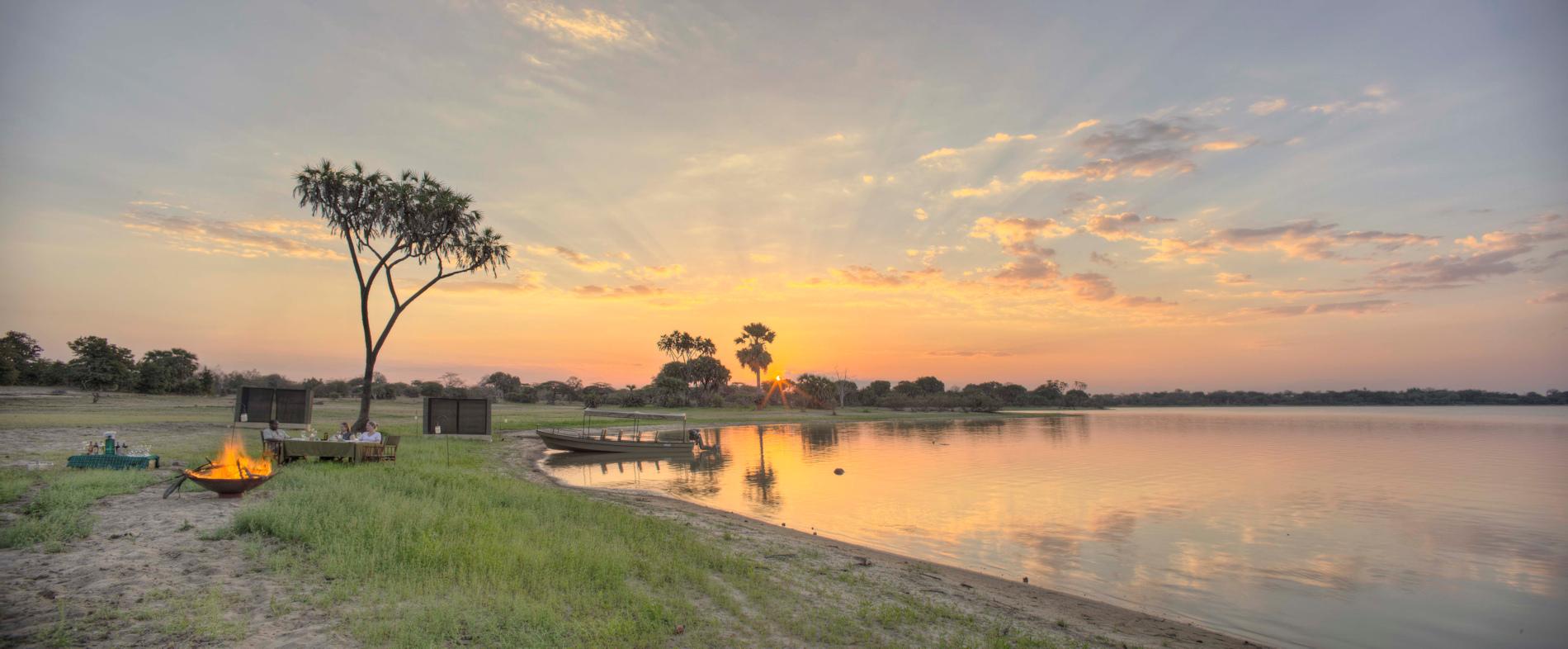Roho ya Camp Selous Tanzania Asilia Africa Copyright Robert J Ross
