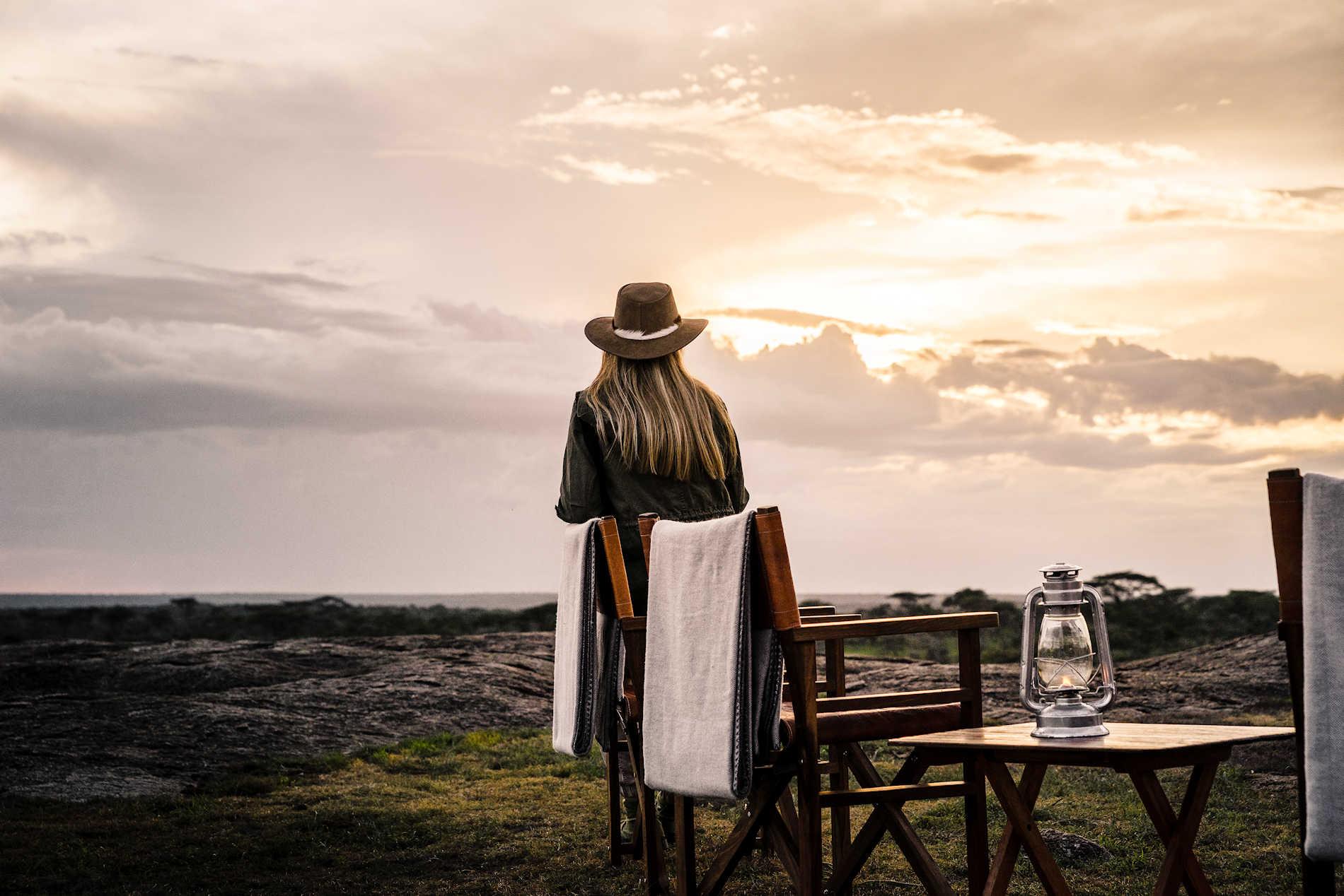 Tolle Aussicht, Sanctuary Kichakani Serengeti Camp, Tansania