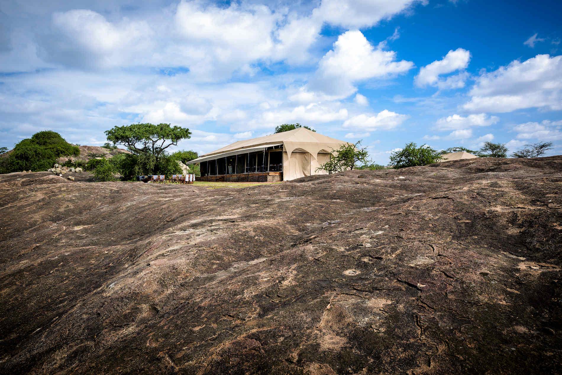 Zelt, Sanctuary Kichakani Serengeti Camp, Tansania