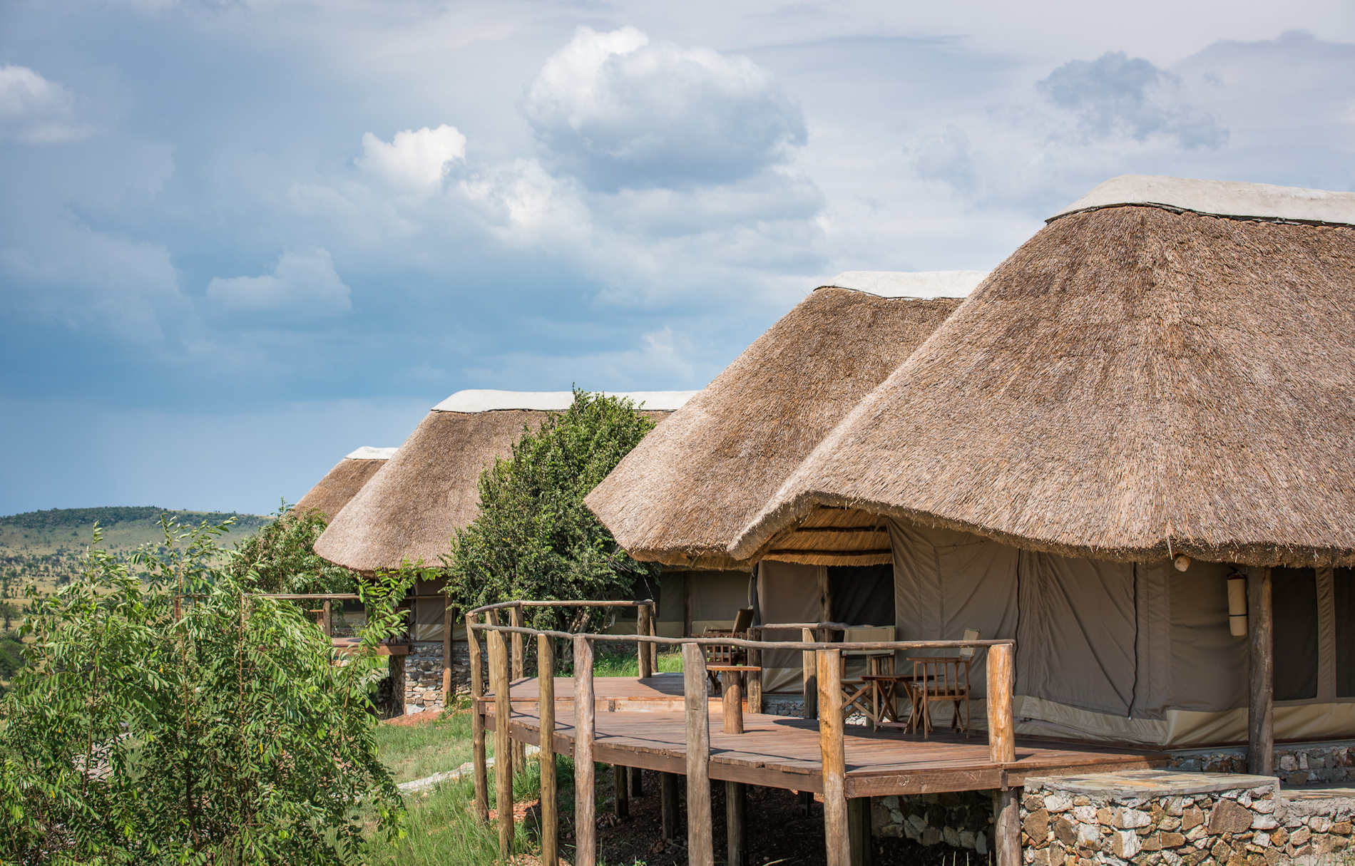Bungalows, Mara River Post Tanganyika Expeditions, Tansania