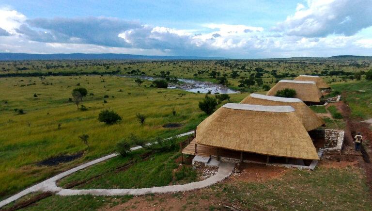 Von oben gesehen, Mara River Post Tanganyika Expeditions, Tansania