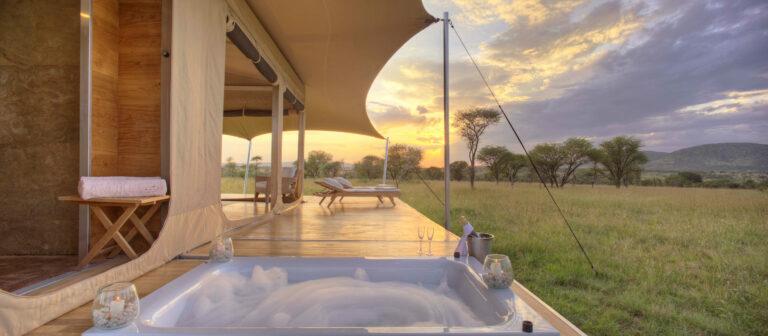 Jacuzzi, Roving Bushtops Serengeti, Tansania